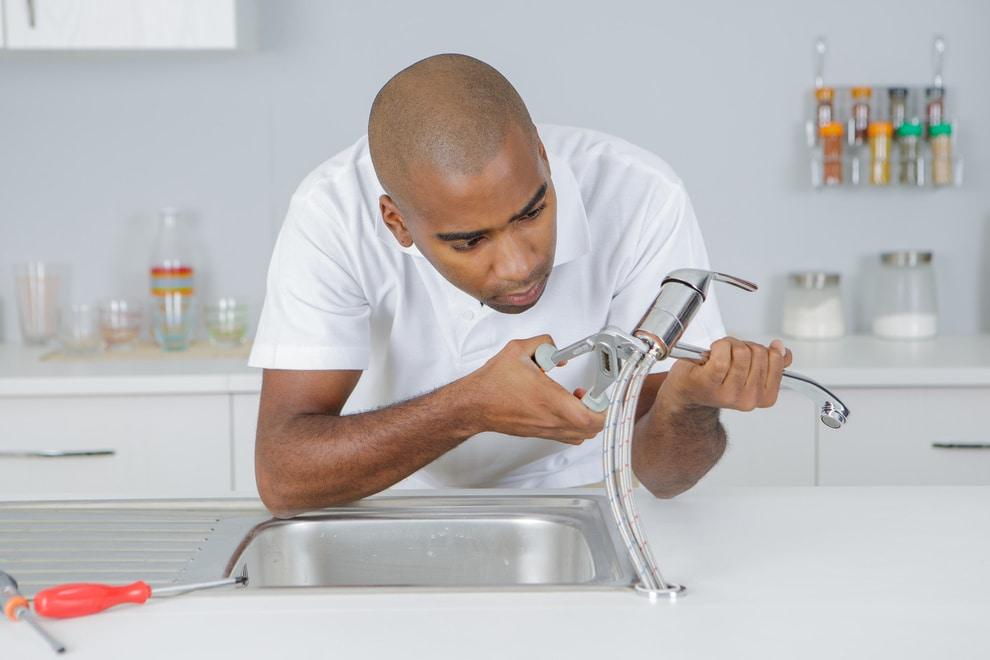 Raccordement robinet